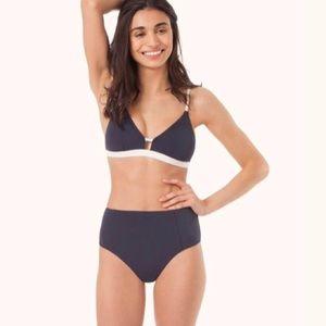 Lively bikini bottom HIGH WAIST 🌹🌟 color : Navy